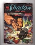 The Shadow Aug 1 1936, Maxwell Grant,