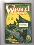 Weird Tales Sep 1942  H.P. Lovecraft- Reaminator, Quinn, Bloch, Bond,