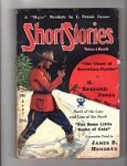 Short Stories Sep 25 1933 Jones, Greene, Hendryx, Reynolds