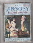 Argosy Nov 10 1917 Max Brand, Edgar Franklin,