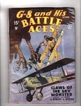 G-8 Battle Aces Oct 1935 Robert J. Hogan, John Fleming Gould