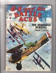 G-8 Battle Aces Aug 1935 Blakeslee, Hogan.