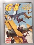 G-8 Battle Aces May 1937 Robert J. Hogan, Frederick Blakeslee