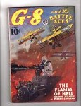G-8 Battle Aces May 1938 Robert J. Hogan, Frederick Blakeslee