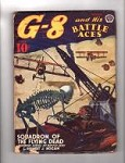 G-8 Battle Aces Oct 1941 Robert J. Hogan, John Fleming Gould