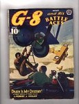 G-8 Battle Aces Aug 1941 Robert J. Hogan, John Fleming Gould
