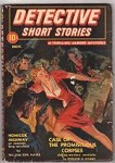 Detective Short Stories Nov 1941 Saunders cover