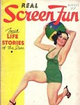 Real Screen Fun Aug 1934 E.K. Bergey