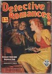 Detective Romances Nov 1936 First Issue; Very rare