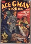 Ace G-Man Stories Sep-Oct 1939 Tepperman, Blassingame, Kier, Clemens