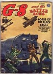 G-8 Battle Aces Dec 1941 Robert J. Hogan, John Fleming Gould File Copy