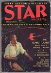 Star Magazine Sep 1931 Sci-Fi Cover Yellow intrigue Bedford-Jones,