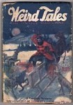 Weird Tales Jul 1925 Key issue Spear and Fang 1st pub story by Robert E. Howard.
