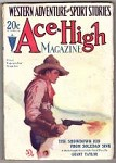 Ace-High Sep 1 1929 Jerry Delano Cvr, Grant Taylor,