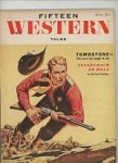 Fifteen Western Tales Jun 1955 Story on Tombstone, Wyatt Earp