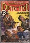 Thrilling Detective Jul 1937 Violent Mobster Cvr