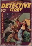 Detective Story Apr 1938 Dog Attack Cvr
