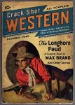 Crack-Shot Western Oct 1940