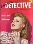 Police Detective Nov 1944 Volume 1 Issue 1: Strangled Beauty