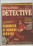 Official Police Detective March 1981 Bondage Cover