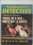Headquarters Detective Aug 1974 Bondage Cover, Hog Tied Woman in her Underwear
