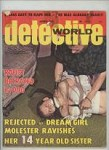 Detective World Aug 1975 Bondage Cover