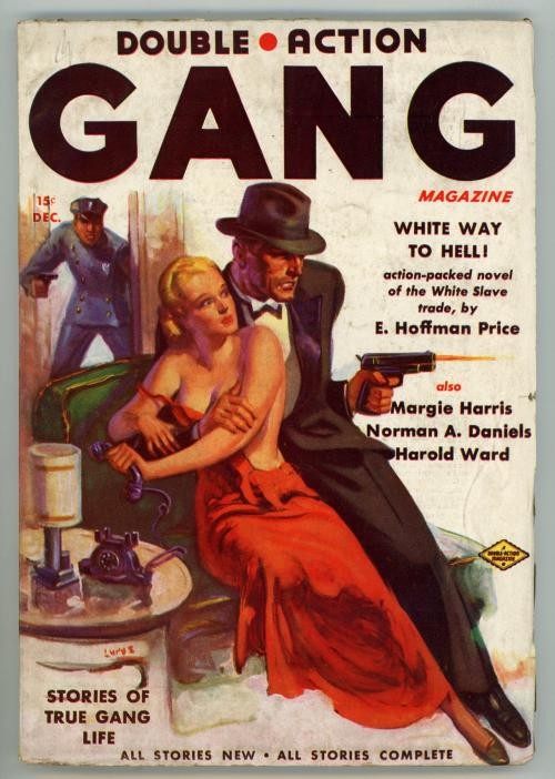 Double Action Gang Dec 1937 FIRST of 2nd series; GGA